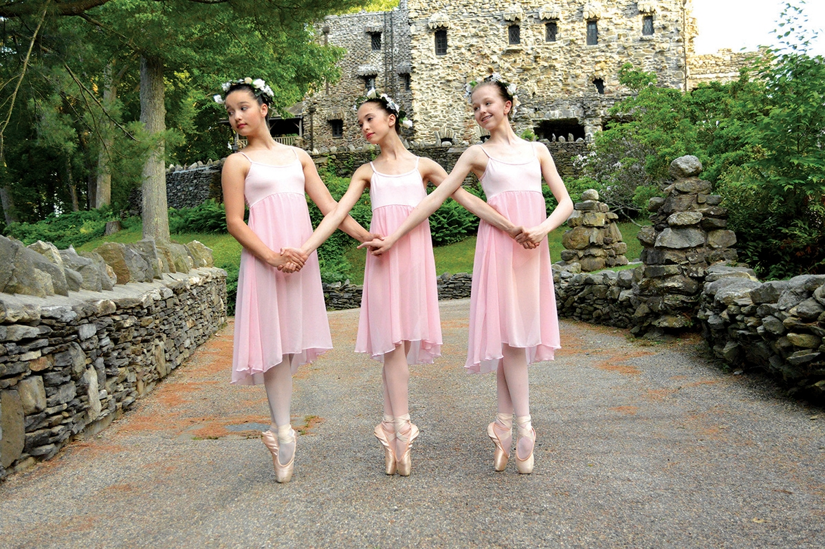 Dancers at Gillette Castle State Park in Haddam. (Mariah Gravelin photo)