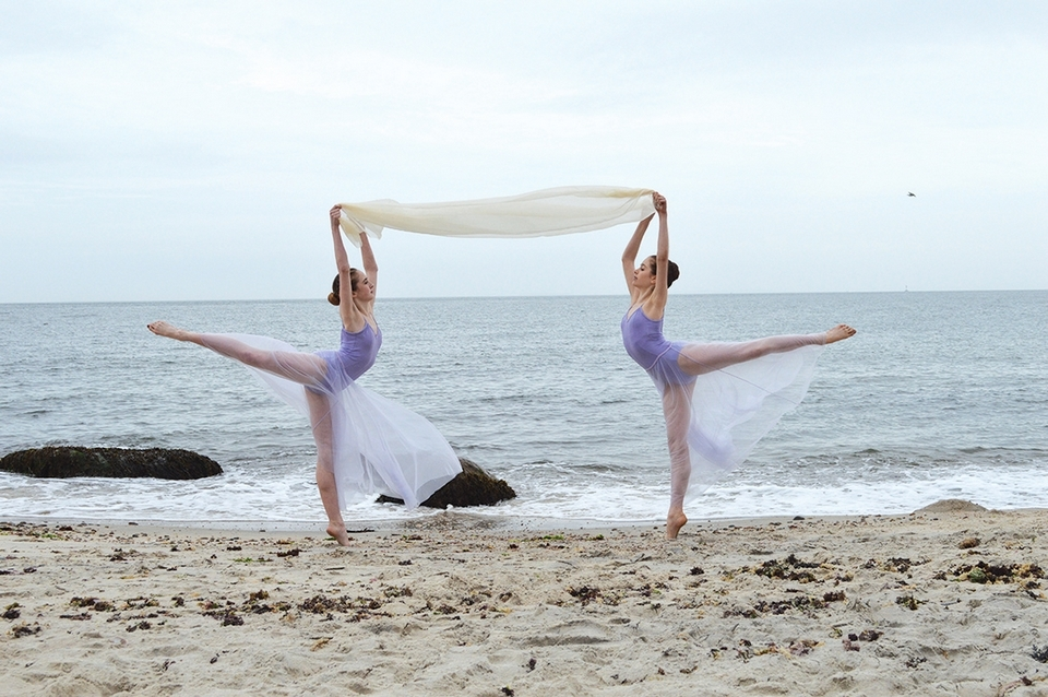 The beauty of ballet at Harkness State Park. (Mariah Gravelin photo)