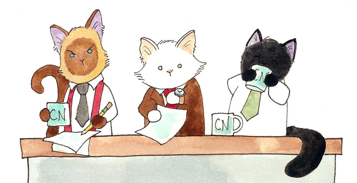 <b></b> Elvis, Lupin and Puck (l-r), members of