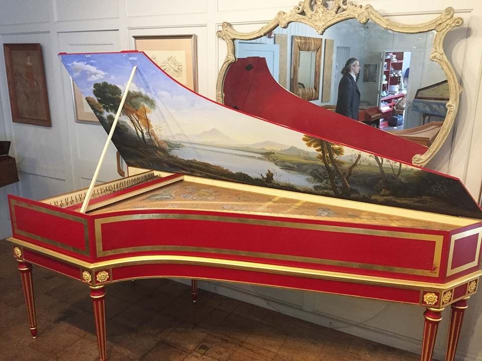 Zuckerman Harpsichord International fills high-end orders out of a workshop near Stonington Borough, Connecticut. They've even built a clavichord for Billy Joel.