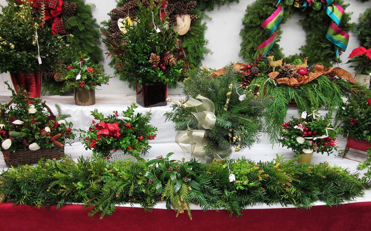 <b></b> The Mystic Garden Club's annual greens sale will be held Dec. 1 from noon-3 p.m., and Dec. 2 from 9 a.m.-1 p.m. at the Mystic Mystic Museum of Art, 9 Water St, Mystic. (Photo courtesy of Joanne Lukaszewicz)