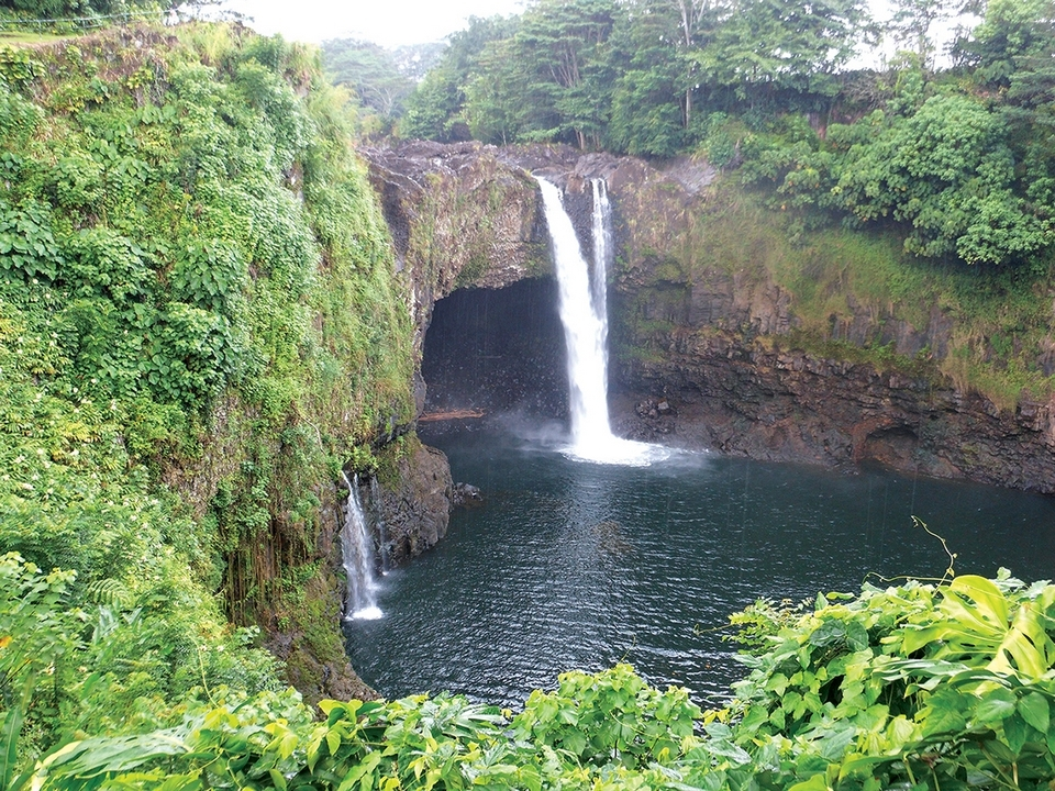 Rainbow Falls on the Big Island.