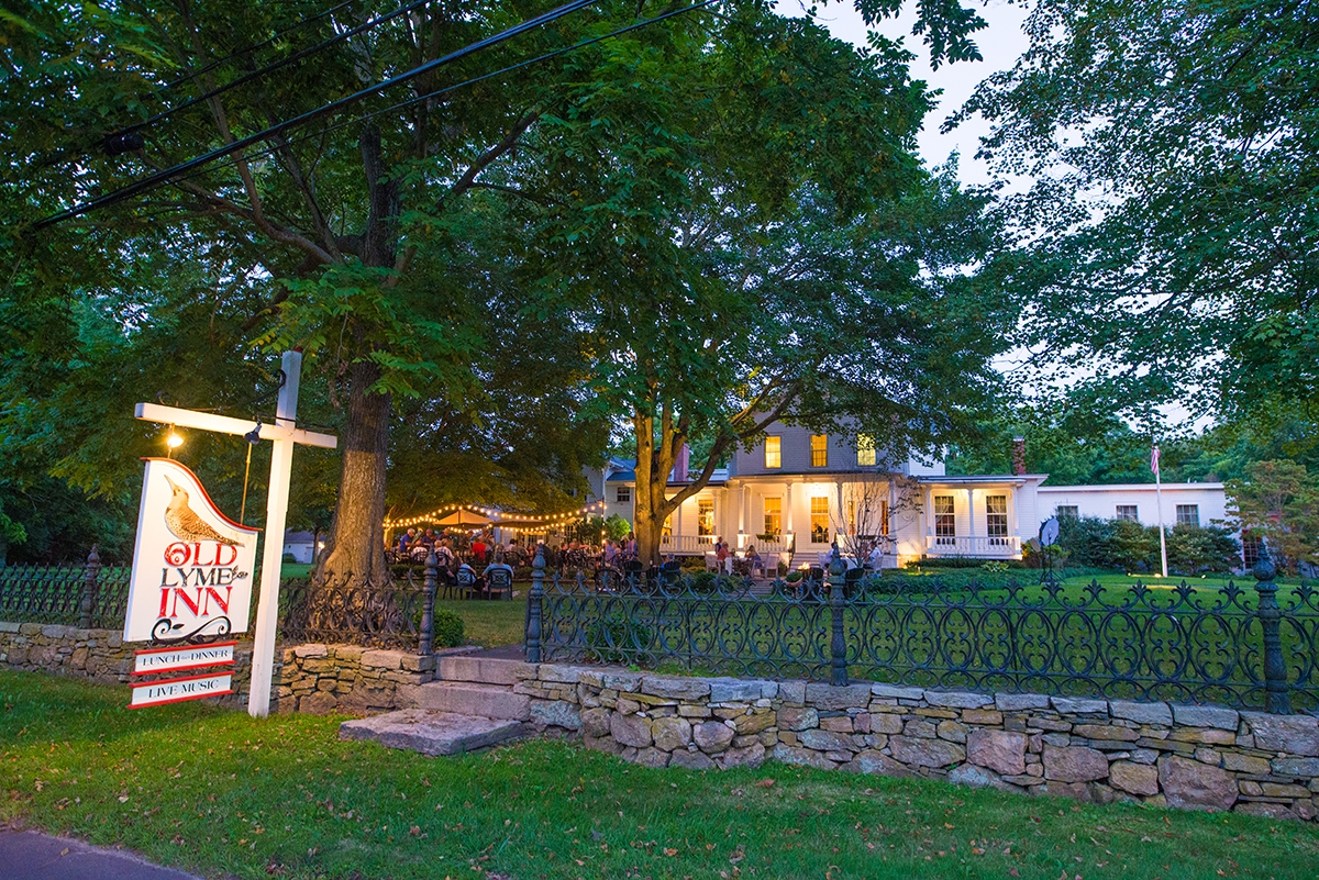 <b></b> The Old Lyme Inn has gained a reputation as a special dining retreat - from an inventive new menu to atmosphere to spare. (Seth Jacobson photo)