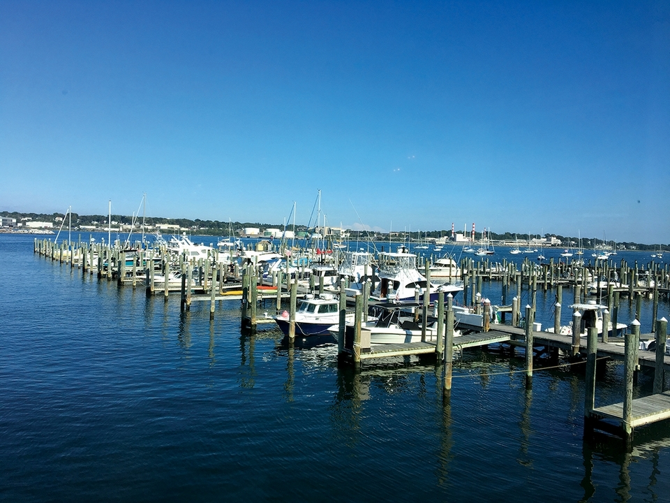 The New London waterfront is a beautiful host to several notable seafood restaurants. (Faye Parenteau photo)
