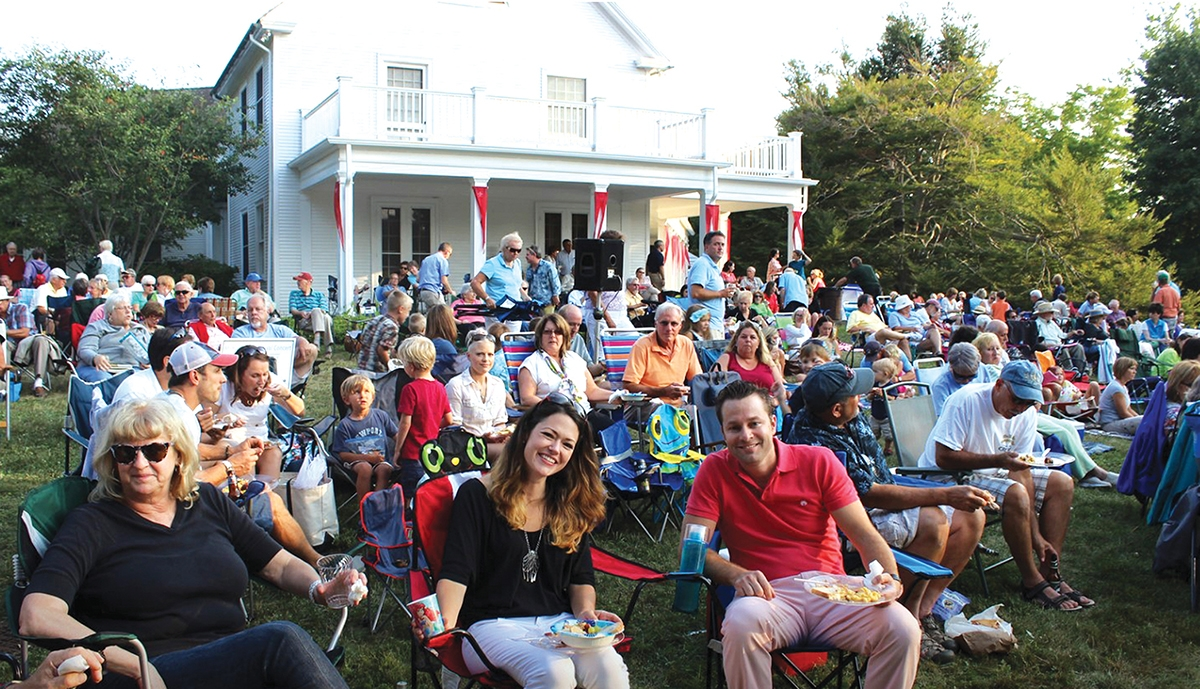 <b></b> The Midsummer Festival on the gorgeous grounds at the Florence Griswold Museum in Old Lyme is a much-anticipated annual celebration.