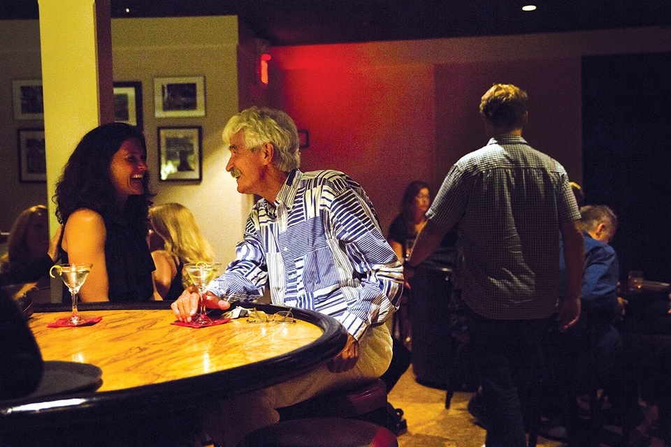 The Side Door Jazz Club draws music and drink aficionados from far and wide. (Emilie Farrugia photo)