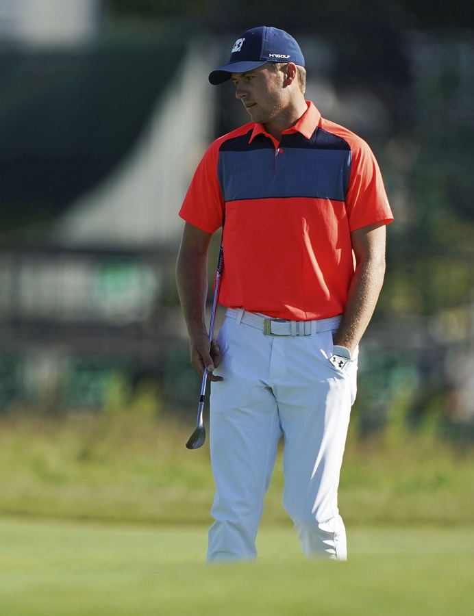 <b></b> Defending champion Jordan Spieth is back to compete in the Travelers Championship, which begins Thursday at TPC River Highlands in Cromwell, and he will be joined by a strong field that includes current Masters champion Patrick Reed and Brooks Koepka, straight off his second straight U.S. Open win. (AP Photo/Carolyn Kaster, File)