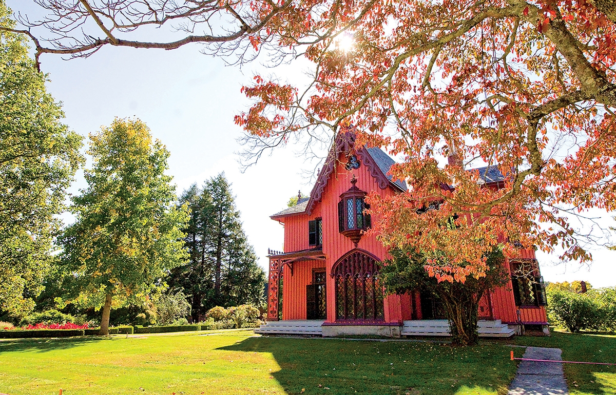 Roseland Cottage in Woodstock is one of the most unique, engaging historic properties in eastern Connecticut. (Renee Trafford photo)