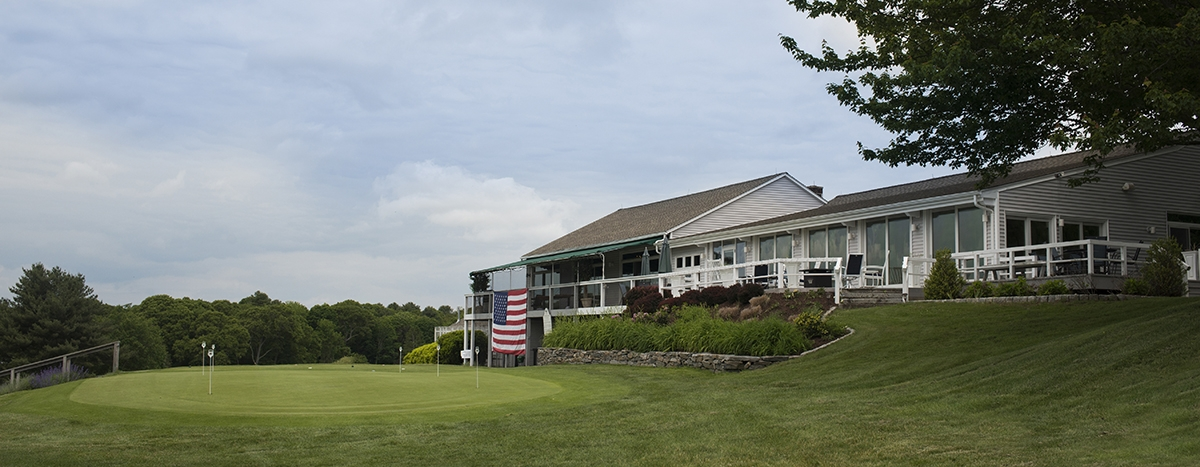 <b></b> The golf course and main building at Old Lyme Country Club. (Photos by Peter M. Weber)
