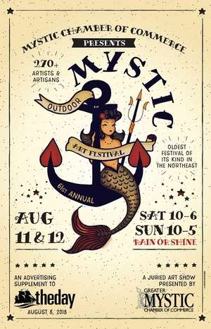 Mystic Outdoor Art Festival; Summer 2018