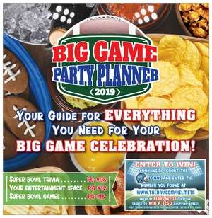 Big Game Party Planner; 2019