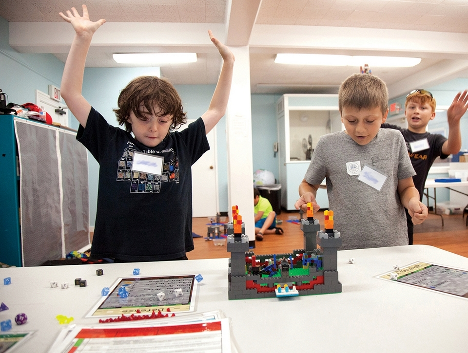 Known for its maritime programs, Mystic Seaport has broaded the scope of its summer camps in recent years to include a range of LEGO camps, art, boat design and building, and marine science. (Joe Michael photo, courtesy of Mystic Seaport Museum)