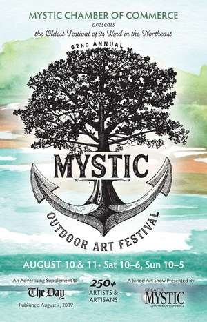 Mystic Outdoor Art Festival; 2019